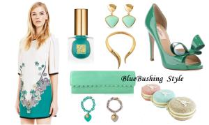 Moda 2013 - Verde pastello - BlueBushing Style